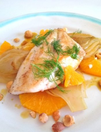 grilled dorade with fennel