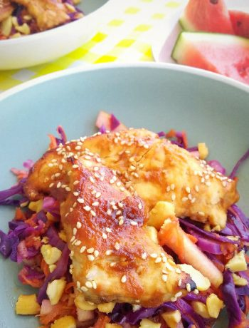 glazed miso chicken
