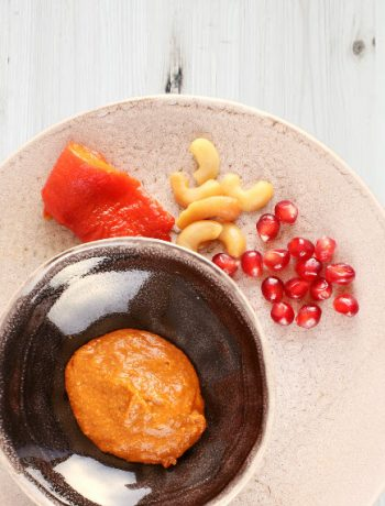 mezze dip with pepper