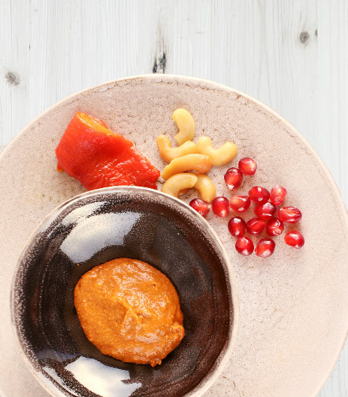 mezze dip with pepper