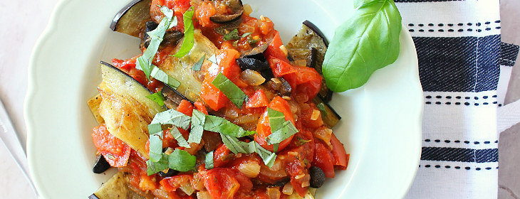 grilled eggplant italian dish